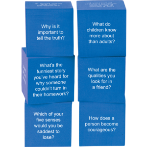 TCR20702 Foam Life Question Cubes Image
