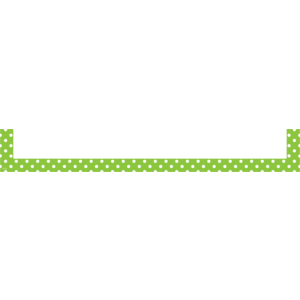 TCR20725 Lime Polka Dots Magnetic Pockets - Large Image