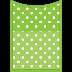 TCR20771 Lime Magnetic Storage Pocket Image