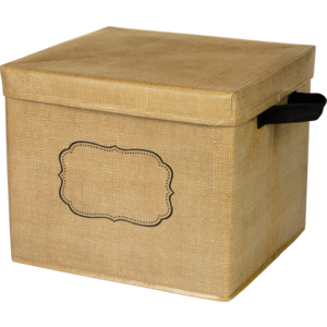 TCR20834 Burlap Storage Box Image