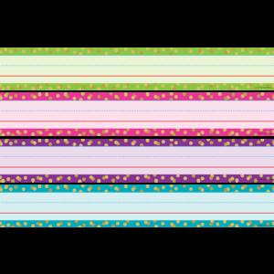 TCR20861 Confetti Sentence Strips Image