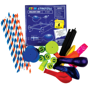 TCR20880 STEM Starters: Balloon Cars Image