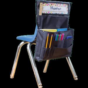 TCR20883 Black Chair Pocket Image