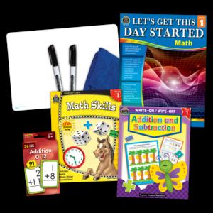 TCR2088501 Learning Together: Math Grade 1 Set Image