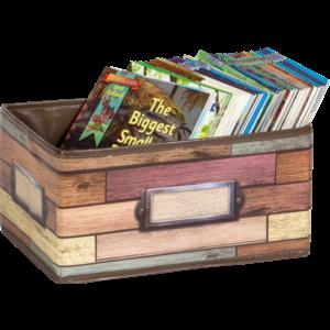TCR20913 Reclaimed Wood Small Storage Bin Image