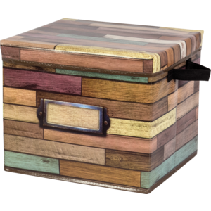 TCR20915 Reclaimed Wood Storage Box Image