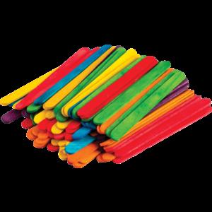TCR20921 STEM Basics: Multicolor Craft Sticks - 250 Count Image