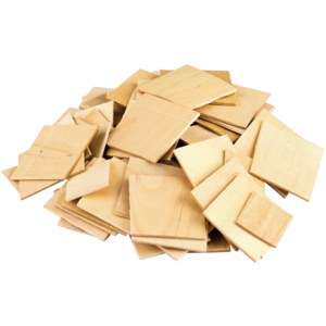 TCR20939 STEM Basics: Wooden Squares - 150 Count Image