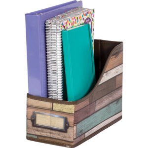 TCR20969 Reclaimed Wood Book Bin Image