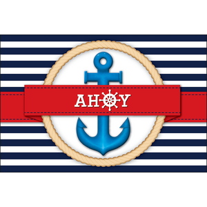 TCR2155 Nautical Ahoy Postcards Image