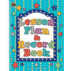 TCR2194 Marquee Lesson Plan & Record Book Image