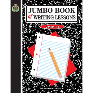 TCR2315 Jumbo Book of Writing Lessons Image