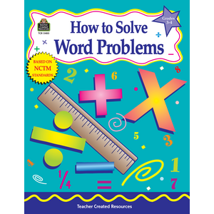 TCR2483 How to Solve Word Problems, Grades 3-4 Image
