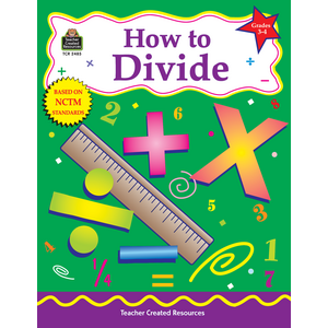 TCR2485 How to Divide, Grades 3-4 Image