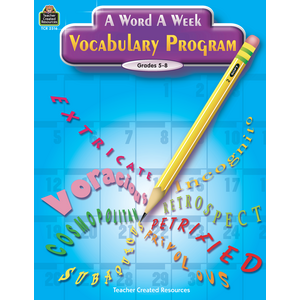 TCR2516 A Word A Week Vocabulary Program Image