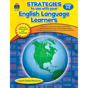 TCR2557 Strategies to use with your English Language Learners Gr 1-3 Image