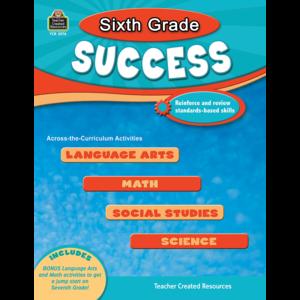 TCR2576 Sixth Grade Success Image