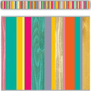 TCR2658 Tropical Punch Straight Border Trim Image