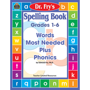 TCR2750 Spelling Book: Words Most Needed Plus Phonics by Dr. Fry Image