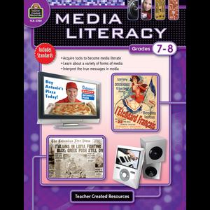 TCR2780 Media Literacy Grade 7-8 Image