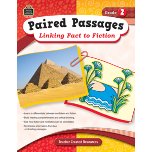 TCR2912 Paired Passages: Linking Fact to Fiction Grade 2 Image