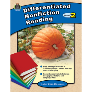 TCR2919 Differentiated Nonfiction Reading Grade 2 Image