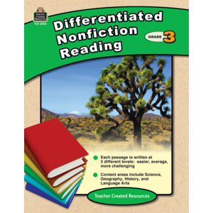 TCR2920 Differentiated Nonfiction Reading Grade 3 Image