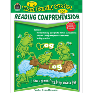 TCR2935 Word Family Stories for Reading Comprehension Grade 1-2 Image