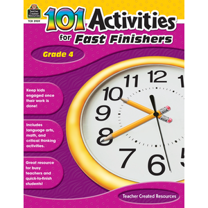 TCR2939 101 Activities For Fast Finishers Grade 4 Image