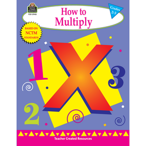 TCR2945 How to Multiply, Grades 2-3 Image