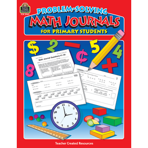 TCR2963 Problem-Solving Math Journals for Primary Students Image