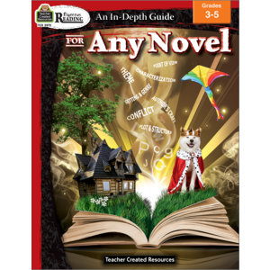 TCR2972 Rigorous Reading: An In-Depth Guide for Any Novel Grade 3-5 Image