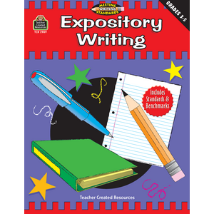 TCR2989 Expository Writing, Grades 3-5 (Meeting Writing Standards Series) Image