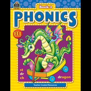TCR3016 Phonics Book 2 Image