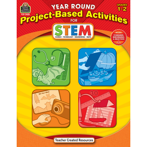 TCR3025 Year Round Project-Based Activities for STEM Grade 1-2 Image