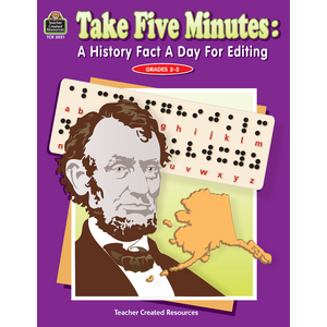 TCR3051 Take Five Minutes: A History Fact a Day for Editing Image