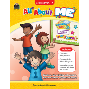 TCR3092 All About Me Grade PreK-K Image