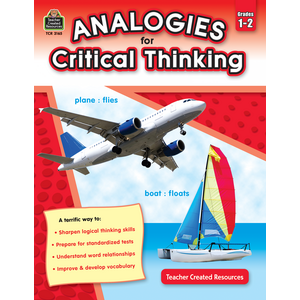 TCR3165 Analogies for Critical Thinking Grade 1-2 Image