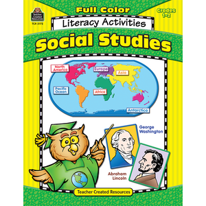 TCR3172 Full-Color Social Studies Literacy Activities Image