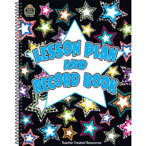 TCR3206 Fancy Stars Lesson Plan & Record Book Image