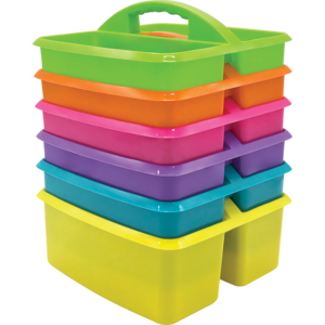 TCR32220 Brights Storage Caddies Set 6-Pack Image