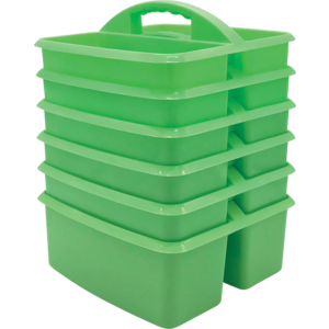 TCR32253 Mint Plastic Storage Caddies 6-Pack Image