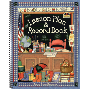 TCR3250 Lesson Plan & Record Book from Susan Winget Image