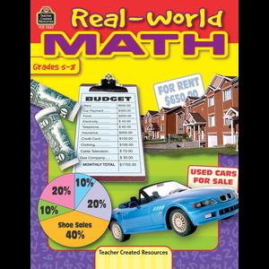 TCR3267 Real-World Math Image