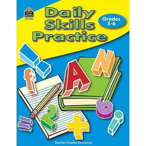TCR3303 Daily Skills Practice Grades 5-6 Image