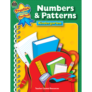 TCR3308 Numbers & Patterns Grade K Image