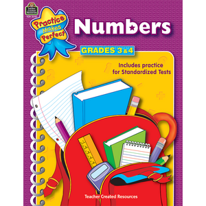 TCR3310 Numbers Grades 3-4 Image