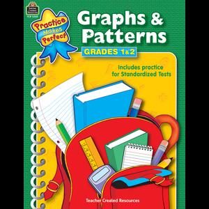 TCR3320 Graphs & Patterns Grades 1-2 Image