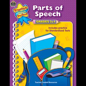 TCR3339 Parts of Speech Grades 3-4 Image
