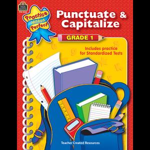 TCR3344 Punctuate & Capitalize Grade 1 Image